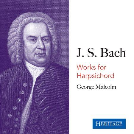 J S Bach Works for Harpsichord
