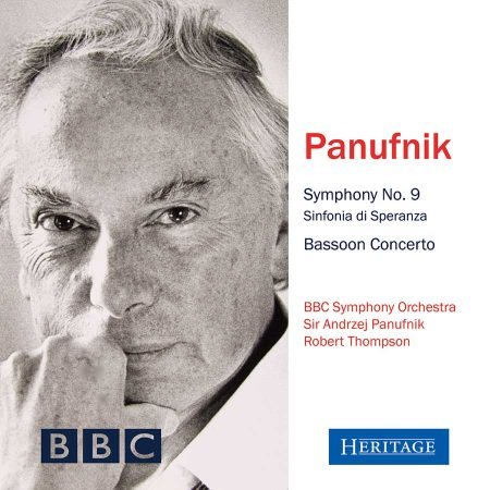 Panufnik: Symphony No. 9 and Bassoon Concerto
