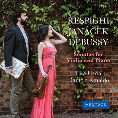 Respighi, Debussy, Janacek: Sonatas for violin and piano