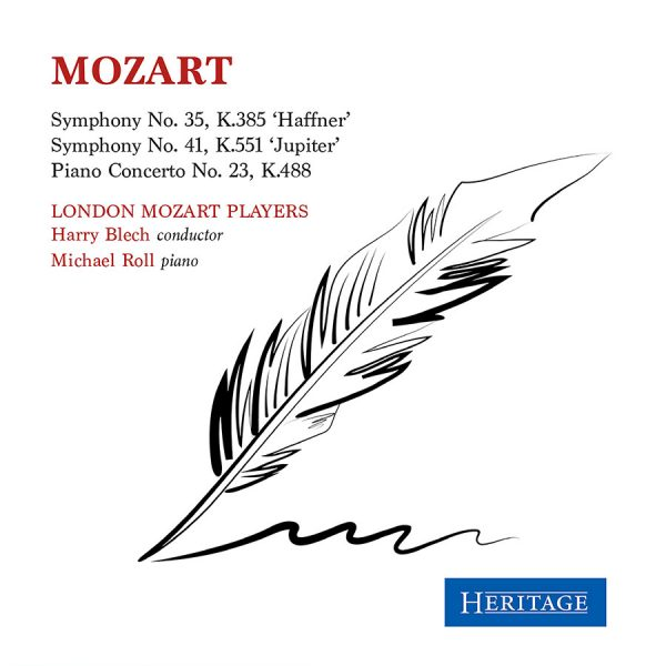 Mozart: Symphonies Nos. 35 'Haffner', K. 385 & 41 'Jupiter', K. 551; Piano Concerto No. 23 in A Major K. 488