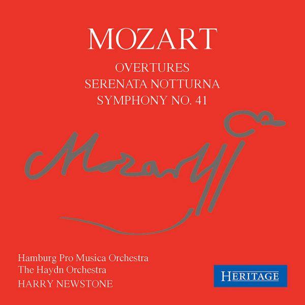 Mozart: Overtures; Serenata Notturna; Symphony No. 41