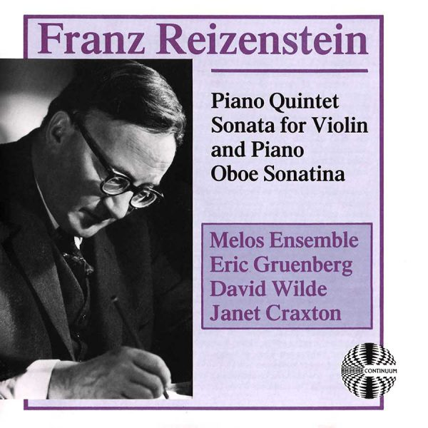 Reizenstein: Chamber Music